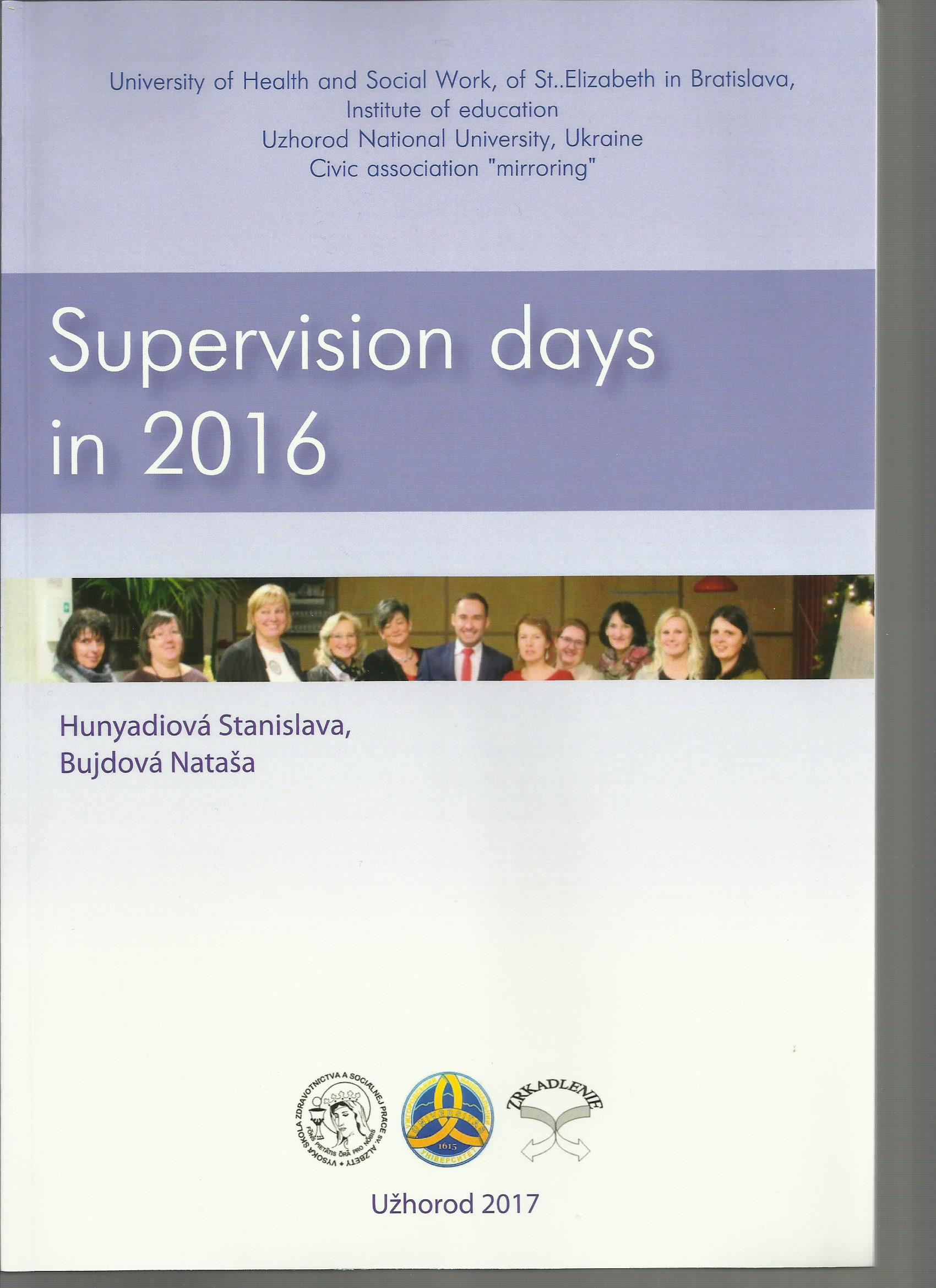 Supervision days in 2016